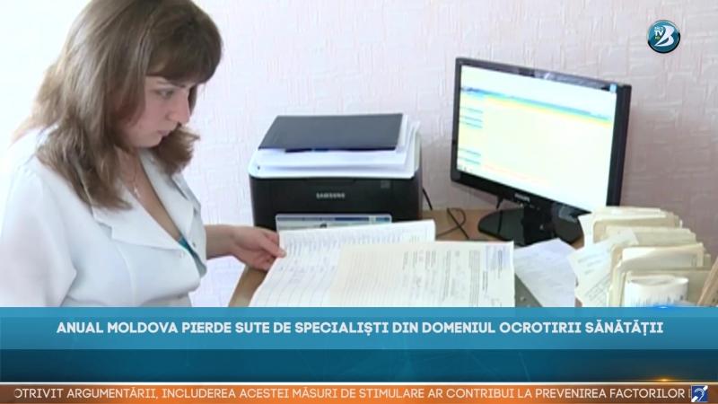 ANUAL MOLDOVA PIERDE SUTE DE SPECIALIȘTI DIN DOMENIUL OCROTIRII SĂNĂTĂȚII