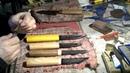 Ковка якутского ножа Часть вторая
