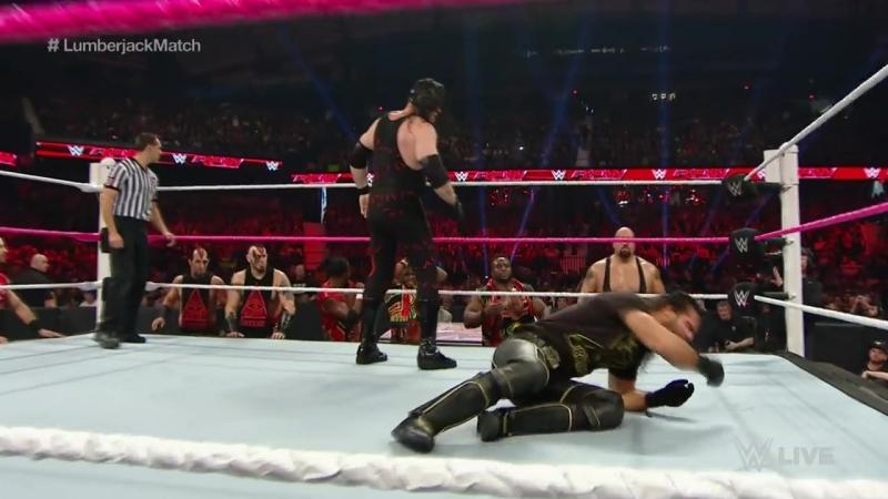 Demon Kane vs. Seth Rollins Raw 10.12.2015