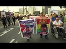 Cumbre de las Américas de Lima manifestaciones de todos los signos marcan la primera jornada