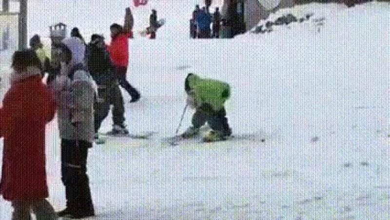 история о пьяном лыжнике....ахахахаха