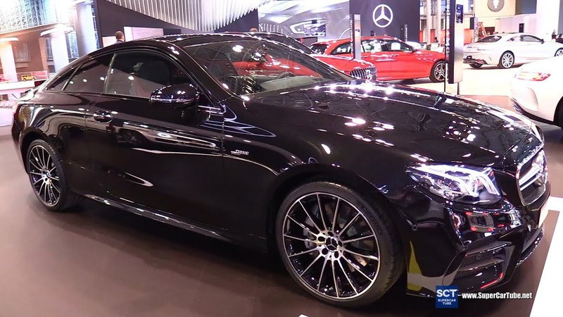 2019 Mercedes AMG E Class E53 Coupe - Exterior and Interior Walkaround - 2018 New York Auto Show