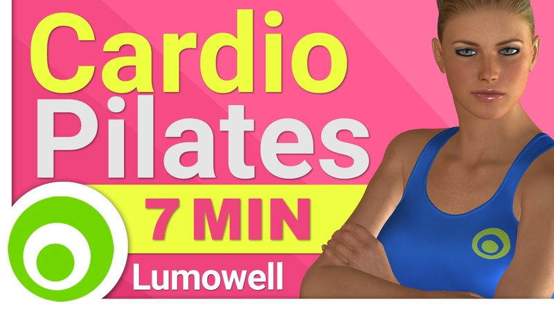 7 Minute Cardio Pilates for Toning and Weight Loss