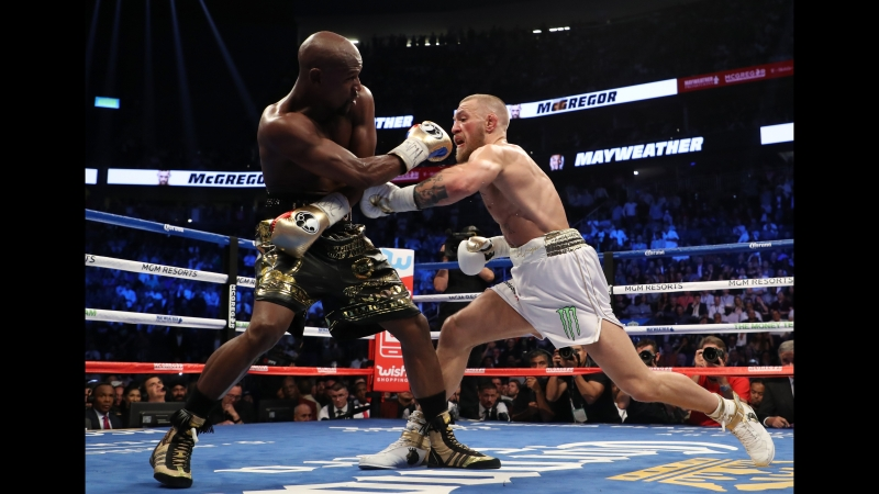 Floyd Mayweather vs Conor McGregor fight highlights