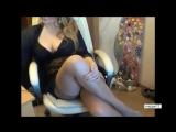 Зрелая красивая сексуальная мамка давалка перед вебкой в чулках милф, milf, matu