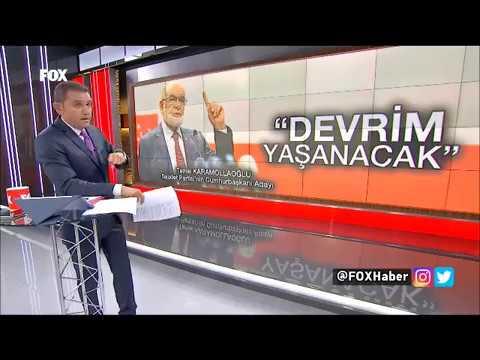 Temel Karamollaoğlu Türkiye 24 Haziran'da Bir Devrime Şahitlik Yapacak