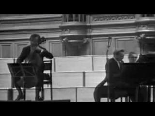 D.Shafran, A.Ginzburg . CHOPIN Cello Sonata Op.65 Moscow, 1972.