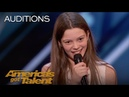 Courtney Hadwin 13 Year Old Golden Buzzer Winning Performance America's Got Talent 2018