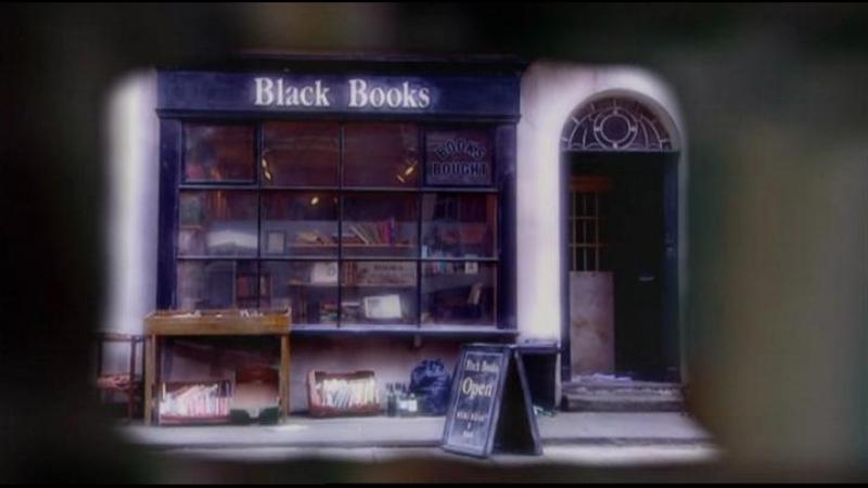 Black books книжный магазин Блэка