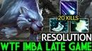 Resolution Mirana WTF Imba Late Game 7 16 Dota 2