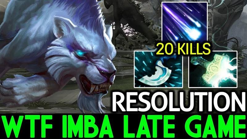Resolution [Mirana] WTF! Imba Late Game 7.16 Dota 2