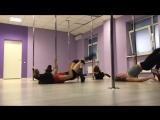 Exotic pole dance с Иваниловой Эльвирой