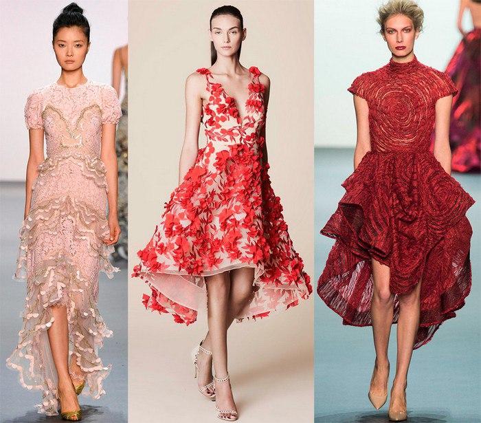 И, конечно же, платья!