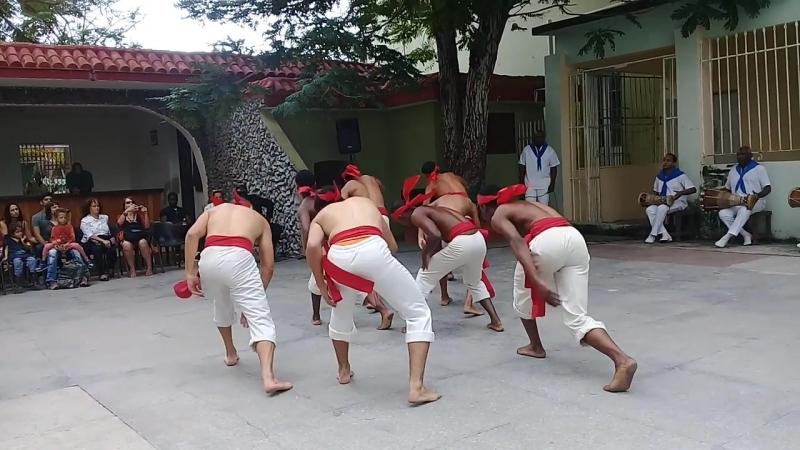 13 01 2018 Havana Sabado de la Rumba Conjunto Folklorico Nacional de Cuba Chango