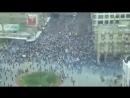 Хомс. Похороны 12 мучеников из района Баб аль-Сабаа под прицелом шабихи, засевшей на крыше здания (18.04.2011)