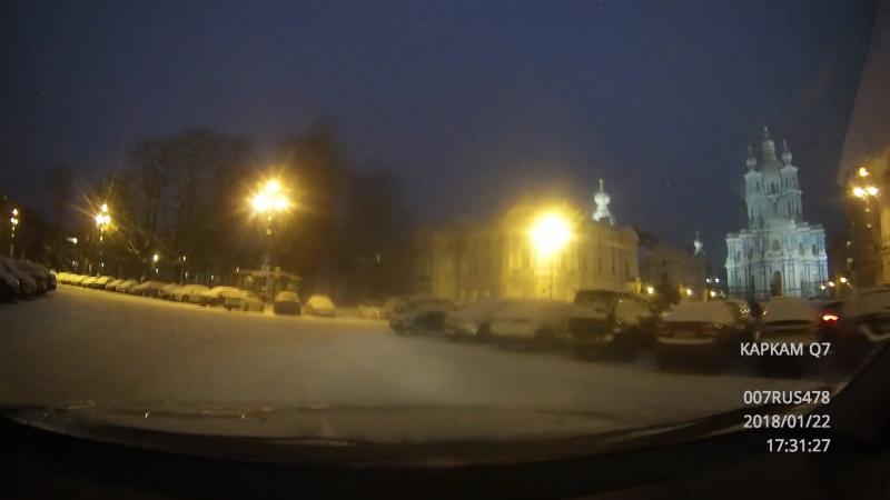 2018-01-22-17-29-41 Смольный в снегу и заторах