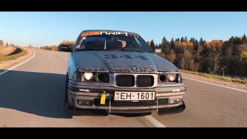 Моя легальная Е36 с двигателем V8 История проекта BMWeast Garage