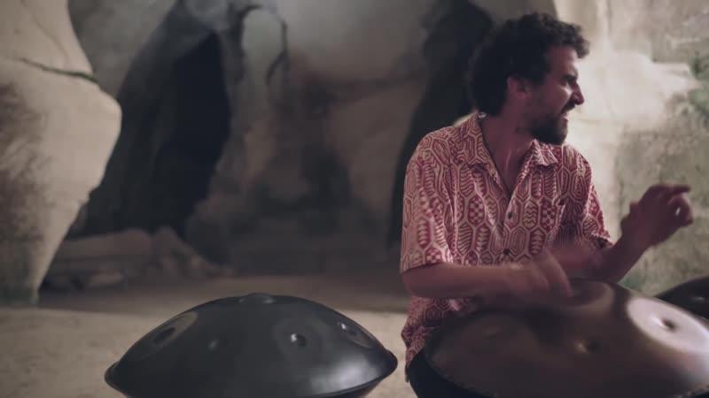 Kabeção - Sun of God [Cave Session] (Handpan / Pantam)
