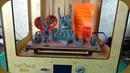 Первые результаты печати на 3D принтере ZAV MAX PRO.