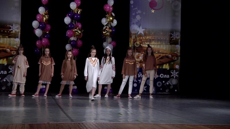 Дефиле Этно-Микс Школа моделей Мода