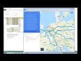 Расчет расстояний  Задача коммивояжера  TSP  GooGle Maps APi  Калькулятор себестоимости