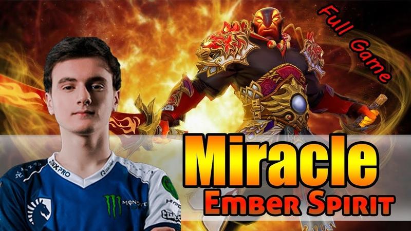 MIRACLE Ember Spirit 7 19 patch gameplay full game
