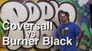 ArtPrimo Coversall vs Burner Black Spray Cans