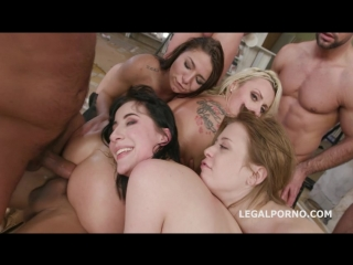 Outnumbered both ways 2 charlotte sartre, brittany bardot balls deep dap gapes squirt to mouth anal fist gio572 / milf