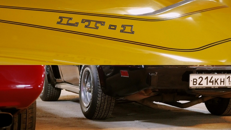 RetroCarShow 6 Chevrolet Corvette C3 1971/78 Teaser