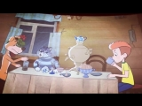 Иван Охлобыстин показал отрывок из нового мультфильма про Простоквашино.