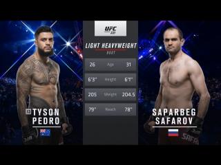 UFC 221 Tyson Pedro vs Saparbek Safarov