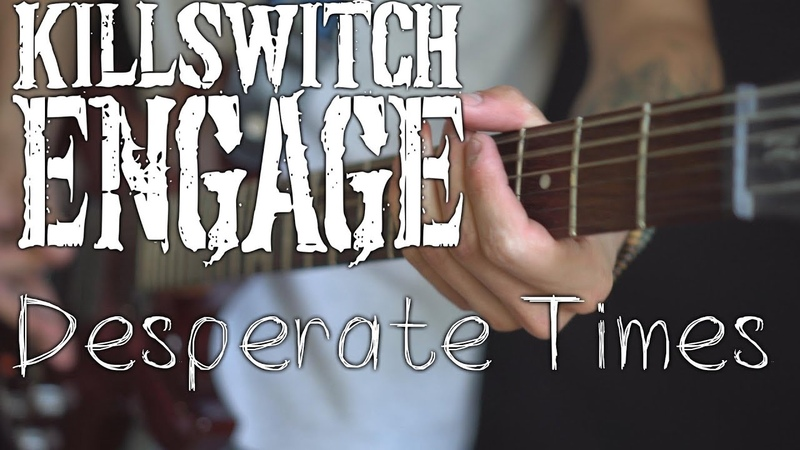 Killswitch Engage - Desperate Times (guitar / bass / vocal cover by Dmitry Klimov)