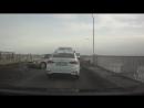 Авария на мосту через Обь 12.01.2018