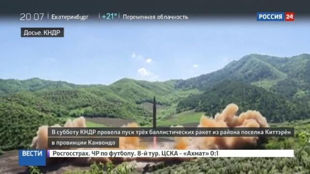 Новости на Россия 24 • Тиллерсон обвинил КНДР в новой провокации