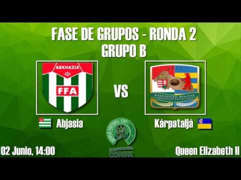 Previa Ronda 2 de la Fase de Grupos - Copa Mundial de Fútbol de ConIFA Barawa 2018