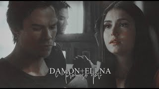 I promise you; damon elena
