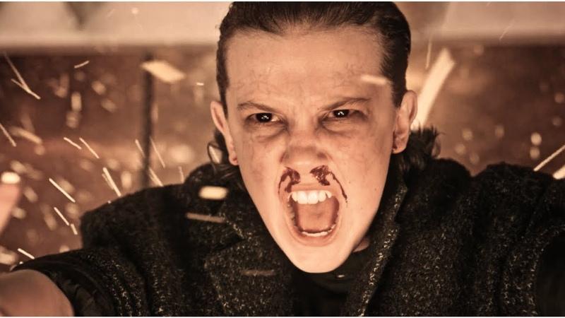 Stranger Things | Eleven using her powers 1x02 2x09 Badass scenes