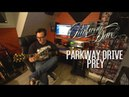Parkway Drive | Prey | Guitar Cover by one handed guitarist