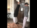 Урок акробатики от Джастина Тимберлейка и Джессики Бил