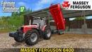 Farming Simulator 17 MASSEY FERGUSON 6400 TRACTOR