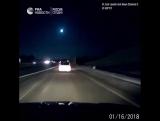 Падение метеорита в Мичигане