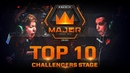 TOP 10 Plays of Challengers Stage feat. smooya, yay, xccurate! FACEIT Major London 2018
