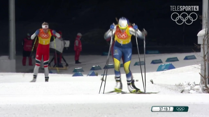 Olympic Games 17.02.2018.Ski. Ladies 4x5 Relay