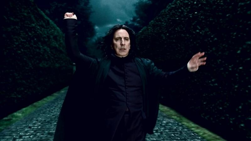 Гарри Поттер и Друзья Северус Снегг Снейп темный ангел Гарри Поттера