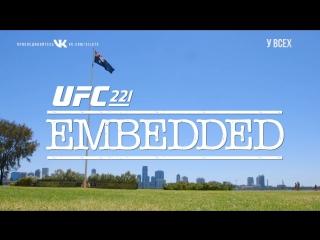 UFC 221 Embedded  Vlog Series - Episode 1