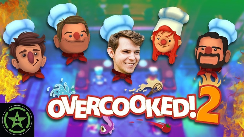 Kitchen Kobe - Overcooked 2 with Robbie Kay | Let's Play