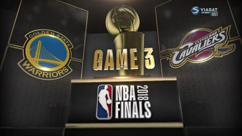 Кливленд Кавальерс - Голден Стэйт Уорриорс (плей-офф 2017-2018, финал) 3 игра