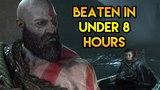 God of War (2018) - Speedrun in Under 8 Hours!