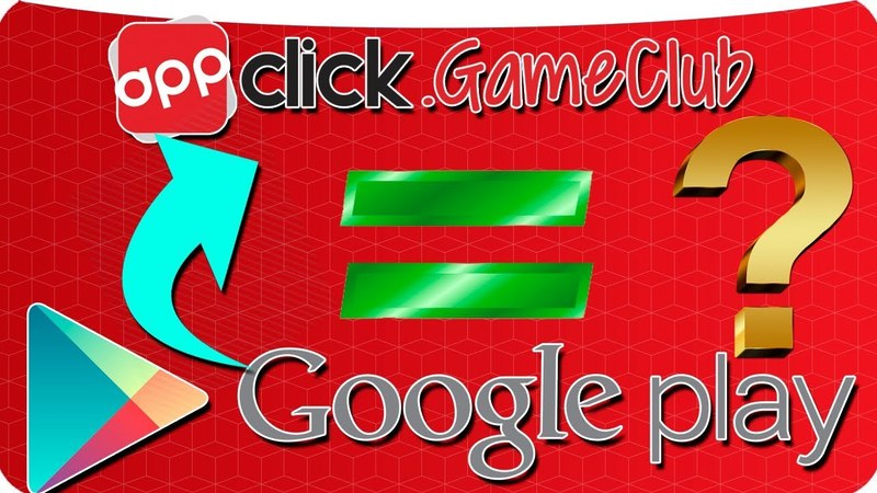 AppClick GameClub ЗАМЕНА GOOGLE PLAY
