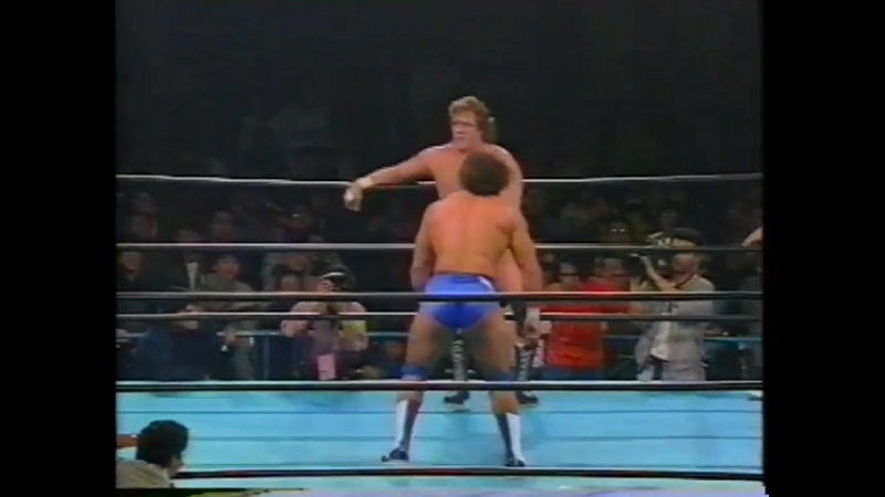 1993.03.30 - Terry Gordy vs. Doug Furnas [FINISH]